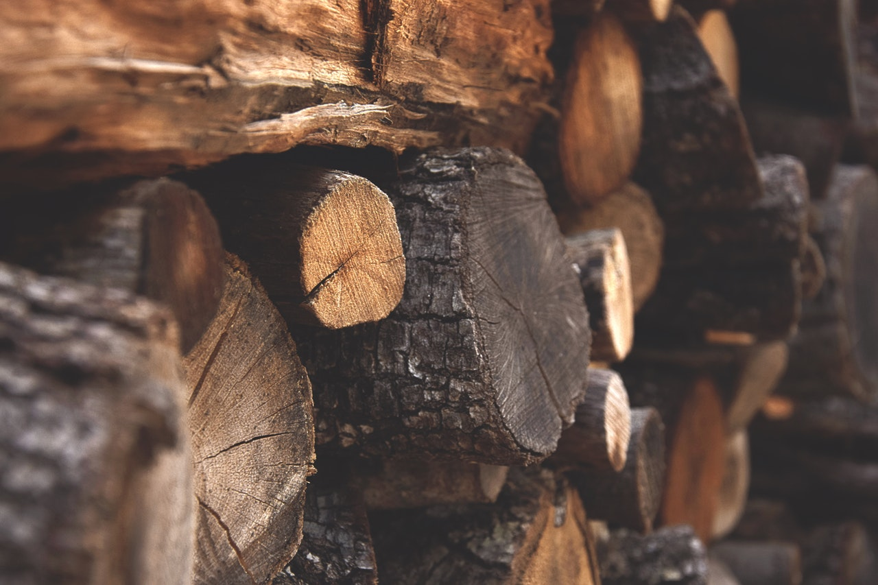Stacked Wood - things to do in idaho falls