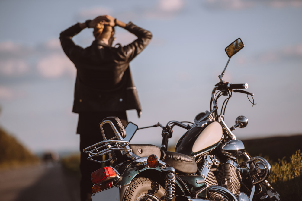 Man Behind Motorcycle - things to do in idaho falls